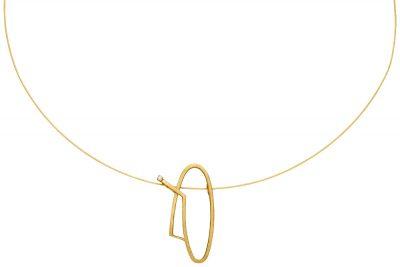 Manuschmuck Goldkette GK22
