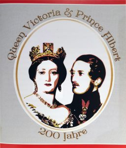 200. Geburtstag von Königin Victoria & Prinz Albert von Sachsen Coburg Gotha
