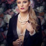 Di Perle Große Zuchtperlen Halskette