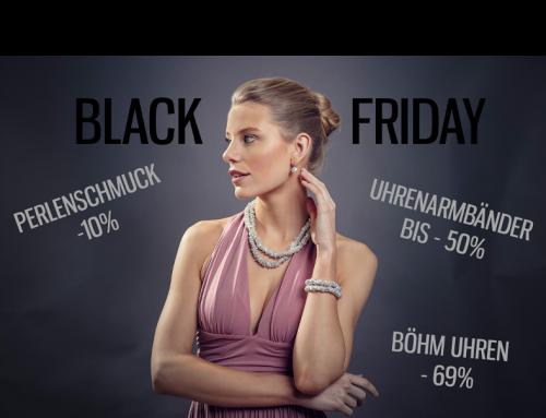 Black Friday 2020: Jetzt bei Juwelier Böhm sparen!