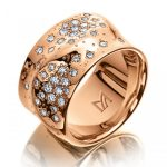 Damenring Meister Women Collection Rotgold